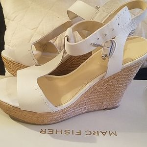 Marc Fisher wedge heels